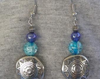 Blue Sunshine Earrings