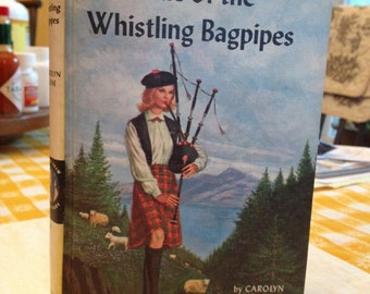 Nancy Drew #41 The Clue of the Whistling Bagpipes 1965