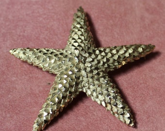 Vintage Silver Tone Starfish Pin/Pendant/Mother's Day/Birthday