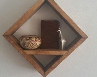 Single Diamond Shelf
