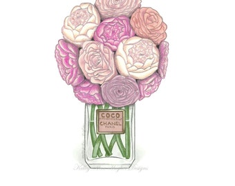 Peonies and Chanel