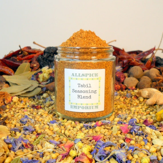 Tabil Seasoning Blend African Tunisian Spice Mix Homemade Gourmet ...