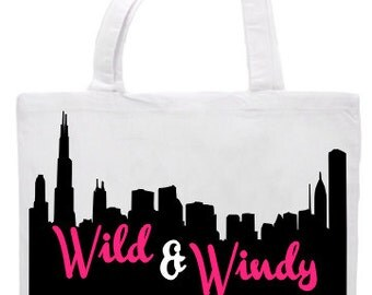 Wild & Windy In The City Tote Bag