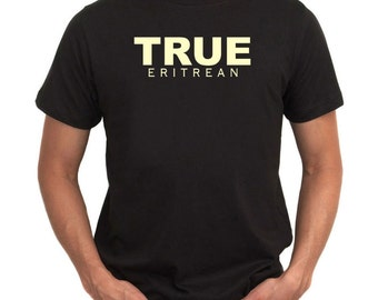 True Eritrea Embroidery T-Shirt