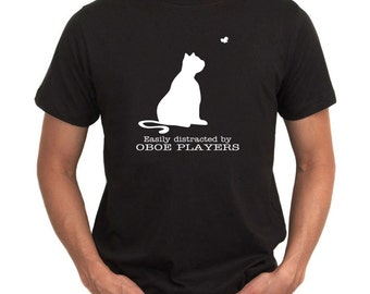 Easily Distracted By Oboe T-Shirt
