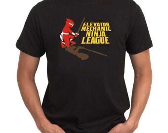 Environmental Economist Ninja League T-Shirt