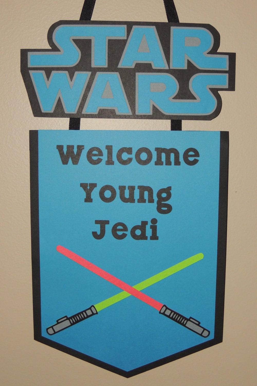Star Wars Door Sign