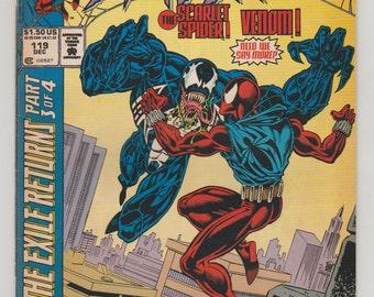 Web of Spider-Man; Vol 1, 119 Modern Age Comic Book.  VF/NM.  December 1994.  Marvel Comics