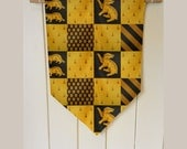 Harry Potter Hufflepuff House - Wall Hanging Banner Flag Fabric pennant Cotton home decro decro