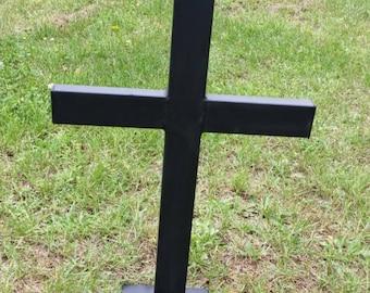 Memorial cross, yard, garden, him, her, gift