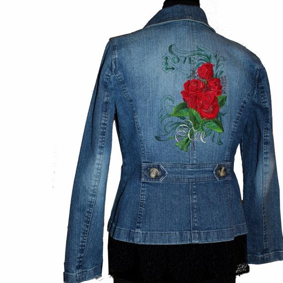 Jean Jacket M Sale Priced September Denim Sale Love And