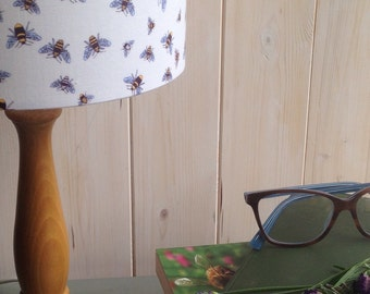 Manchester Buzzy Bees ***SALE*** Fabric covered lamp shade