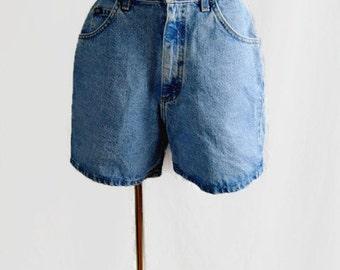 Vintage Lee Shorts Denim Jean 90's Women's