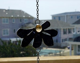 Stained Glass Flower Garland Suncatcher