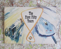 Nostalgic vintage Castrol publication~The First Fifty Years~1909~1959~Success in the air, on land & on the water~Wonderful illustrations