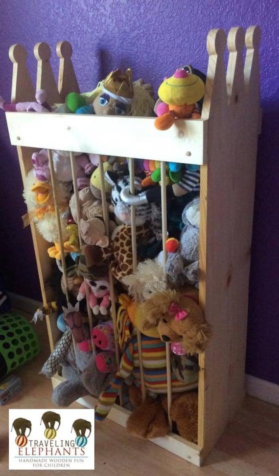 stuffed animal storage stuffed animal zoo by travelingelephants. Black Bedroom Furniture Sets. Home Design Ideas