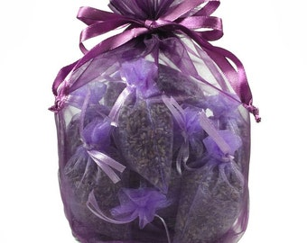 Lavender Drawer Sachets, set of 12