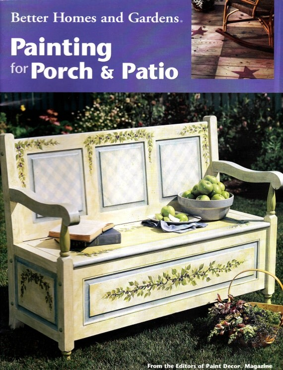 Better Homes And Gardens Paiting For Porch Patio 2000