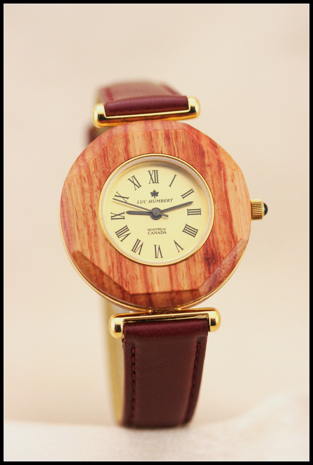 wooden pink wood watches gold gold