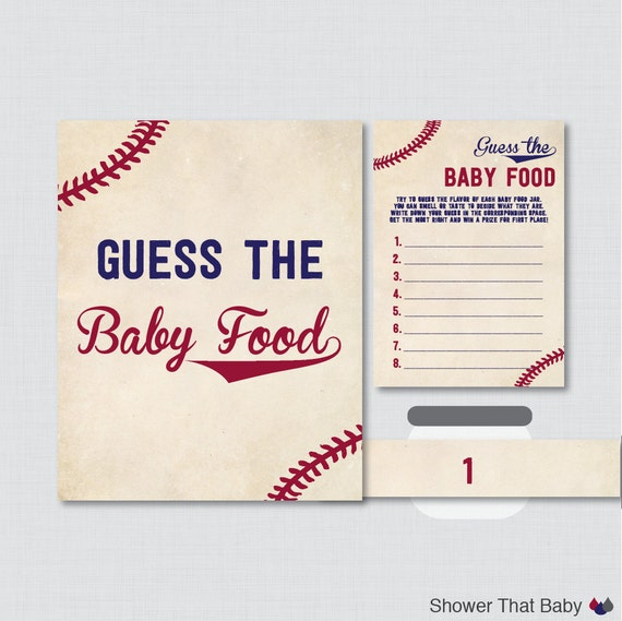 baby shower baby food game baby food activity baseball game 0027