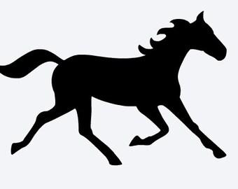 Horse Vinyl Decals