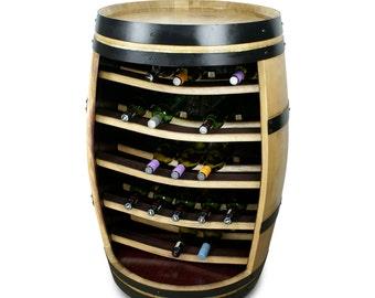 The Albany Wine Barrel Wine Rack