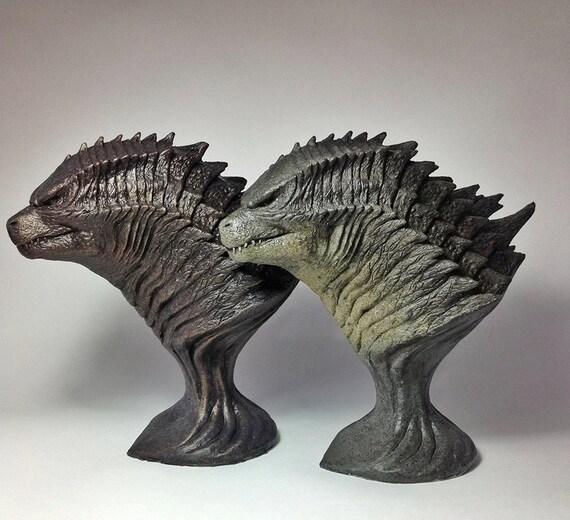Godzilla 2014 Statue Sculpture