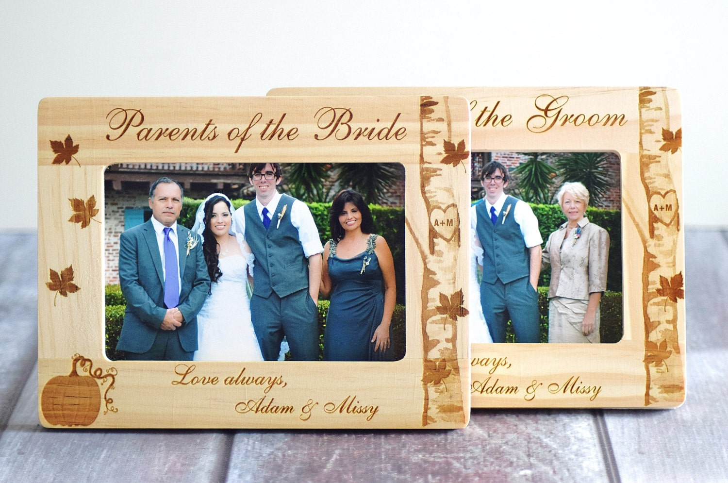 Wedding Gifts For Bride And Groom From Parents: Parents Wedding Gift Bride & Groom WEDDING FRAME SET Parents