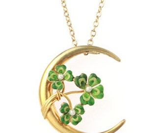 Sky Full of Clover Necklace