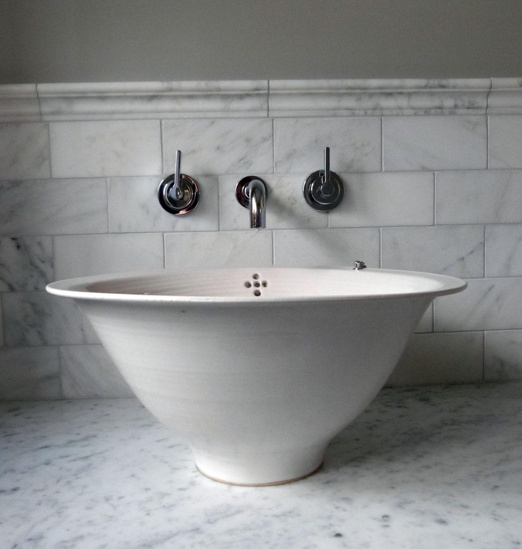 freestanding bathroom sink by handmadebasin on etsy