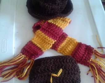 Harry Potter baby costume. Harry Potter baby. Harry potter. Newborn photo prop, Harry potter cosplay