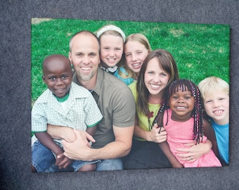 Personalized Canvas Print Family Photos Wall Art Framed Canvas Custom Art Home decor office decor : Ready to Hang!