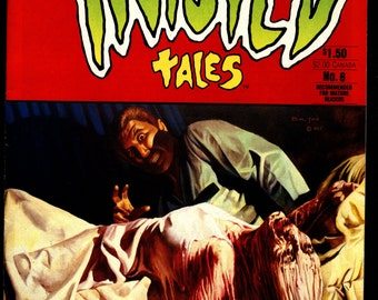 TWISTED TALES #6 Bruce Jones Attilio Micheluzzi John Bolton John Totleben Mike Hoffman Horror Fantasy Underground Anthology