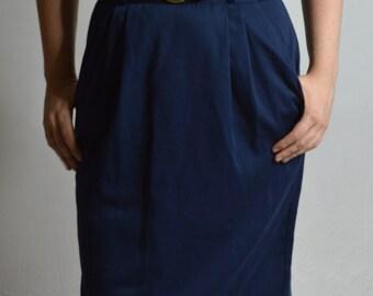 Jara Blue Skirt