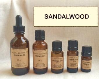 Essential Oil: Sandalwood (Australian)