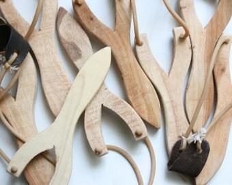 Medium Wooden Slingshot - Randomly picked-