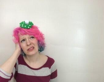 Mini Ice Pack Fascinator, Hangover Hat