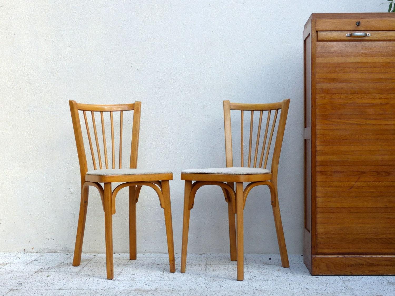 Chaises vintage bistrot baumann haute juice - Chaise bistrot ancienne baumann ...