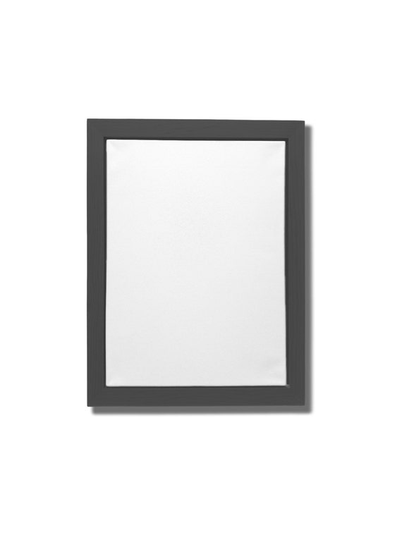 dark gray canvas floater frame for 16 x 20 by weekswoodworks. Black Bedroom Furniture Sets. Home Design Ideas