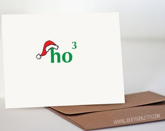 Christmas Holiday Card | Ho to the Third