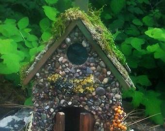 STONE FAIRY HOUSE for Fairy Gardens - Fairy House - Miniature Gardens and Garden Accessories