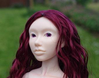 Handmade BJD head : Lazuli normal skin or coffee tan