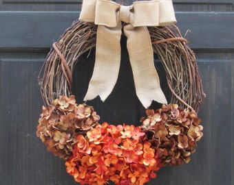 Rustic Fall Wreath, Fall Front Door Wreath, Thanksgiving Wreath for Door, Fall Door Wreath, Fall Grapevine Wreath, Rustic Fall Door Decor
