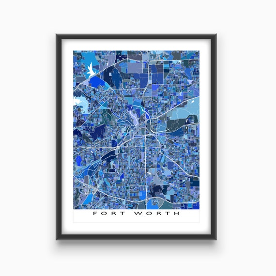 home decor stores fort worth fort worth map print fort worth map home by 12477