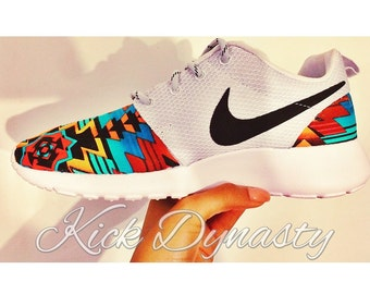 Nike Tribal Roshe Run Custom Sneakers