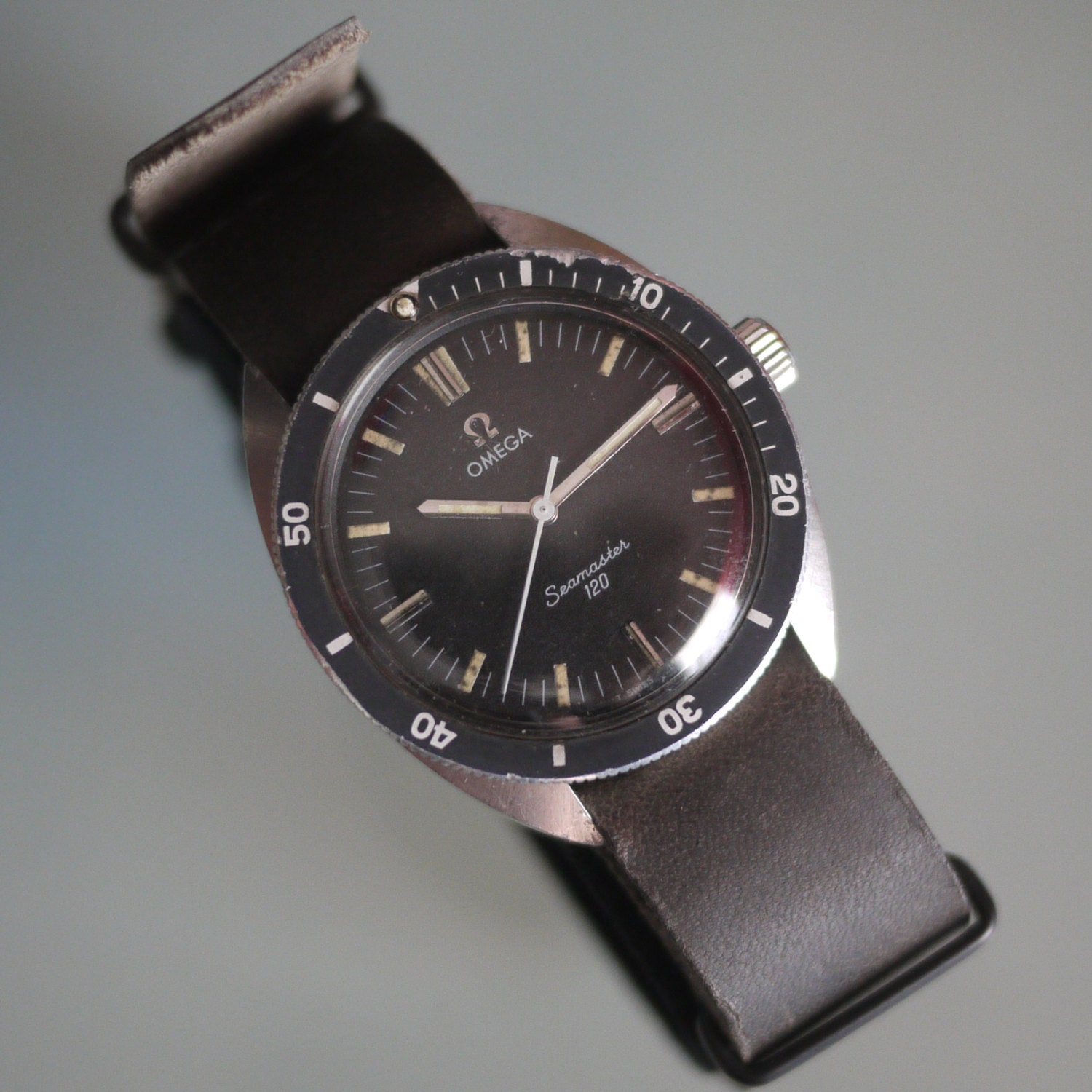 Vintage omega seamaster 120 dive watch from the 60 39 s - Omega dive watch ...
