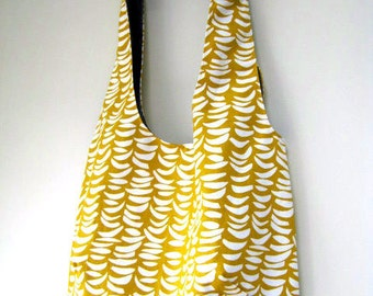 "Shoulder Tote / Hobo Bag ""Sunshine in Sweden"""