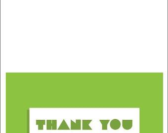 Digital Thank You Card