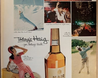 Haig Scotch Whiskey Ad from 1967 (AD67-05)
