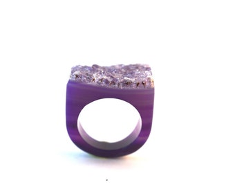 Size 5 Agate Ring